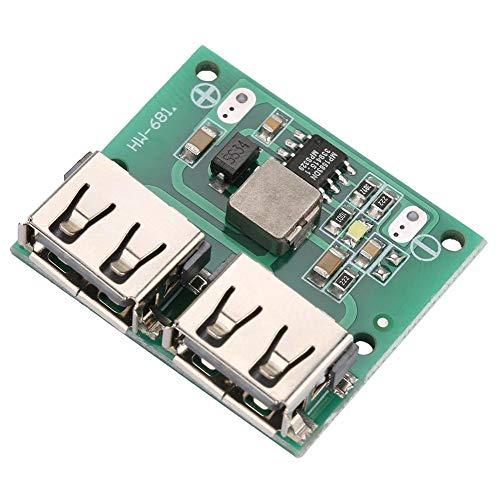 DC-DC Voltage Buck Regulator Dual USB Output 9V12V24V to 5V 3A DC-DC Step Down Power Charger Module
