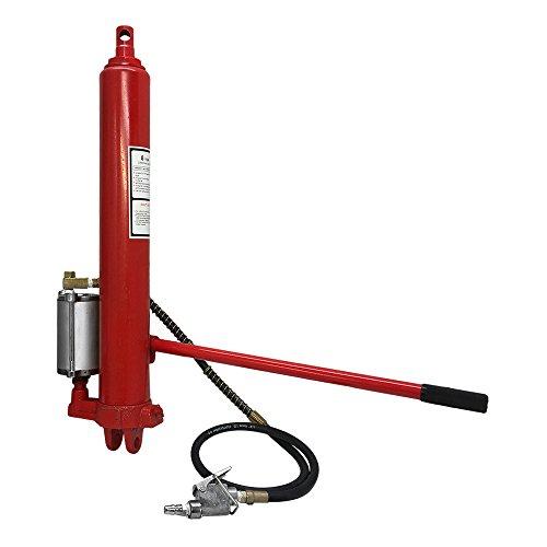 PROLINEMAX 8 Ton Long Ram Air Hydraulic Jack Steel Engine Hoist Lift Auto Shop Cherry Crane
