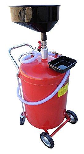 Redline 30 Gallon Self Evacuating Under Hoist Lift Oil Recovery Drain