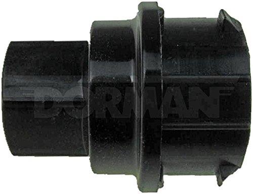 Dorman 611-6411 Black 34 Hex Size x M24-20 Thread Size Wheel Nut Cover