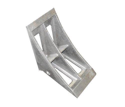 IRONguard 60-7202 CC-07 Aluminum Century Wheel Chock 6-14 Width x 9 Height 10 Base