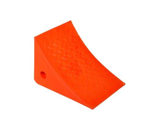 IRONguard 60-7208 811-11 Orange Urethane Wheel Chock 8 Height x 11 Width x 8 Length