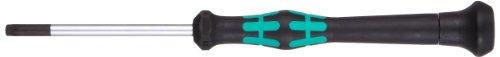 Wera 05118054003 Kraftform Micro 2067 Torx BO Electronics Precision Screwdriver TX20 Head 60mm Blade Length