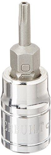 Powerbuilt 648496 14 Dr T10 Tamper Proof Star Bit Socket