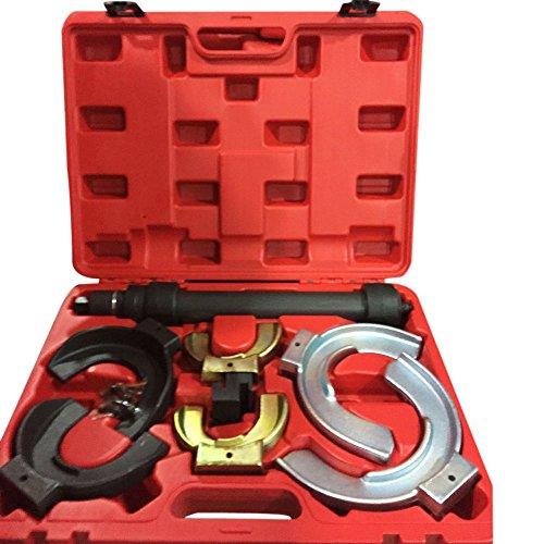 Coil Spring Compressor Valve Clamp Extractor Interchangable Fork Strut Tool Set for Mercedes Benz