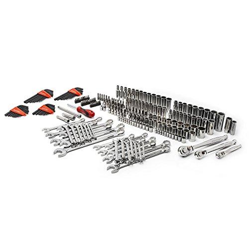 Crescent CTK230 230pc Master Mechanics Tool Set in Full Color Box SAE Metric