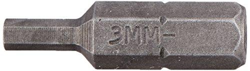 Wright Tool 22M03B 14 Drive Hex Bit with Socket 3mm