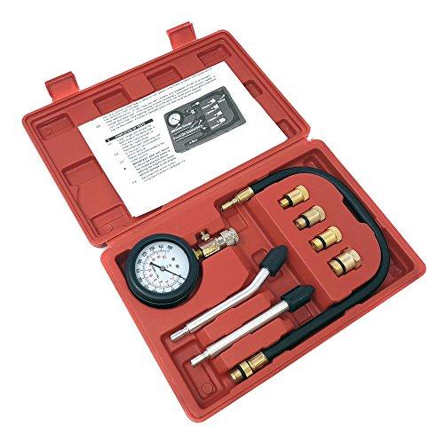 MMG Engine Compression Tester Kit 0-300 PSI Gauge Cylinder Tester Kit Tool