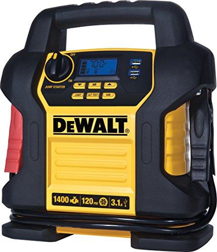 DEWALT DXAEJ14 Jump Starter 1400 Peak700 Instant Amps 120 PSI Digital Air Compressor