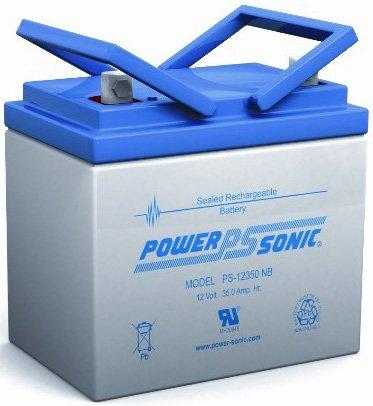 Power Sonic 12V 35Ah U1 Deep Cycle AGM Solar Battery Also Replaces 33Ah 34Ah 36Ah