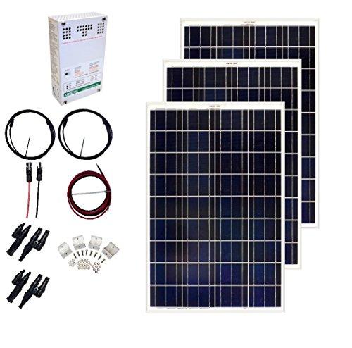 Grape Solar GS-300-CKIT-A 300W Solar Charging Kit for 1224V Battery Banks