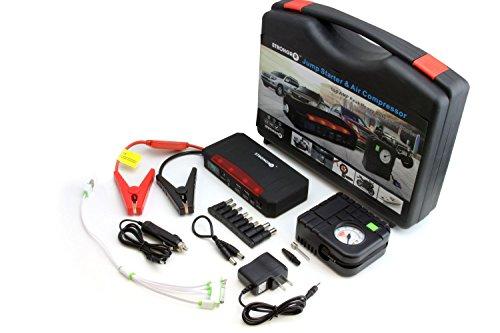 LB1 High Performance 600AMP Peak Portable Battery Jump Starter with Air Compressor for 2014 KTM 250 SX-F 21000mAh Battery Laptop Charger Emergency Kit with LED Lights Flashlight