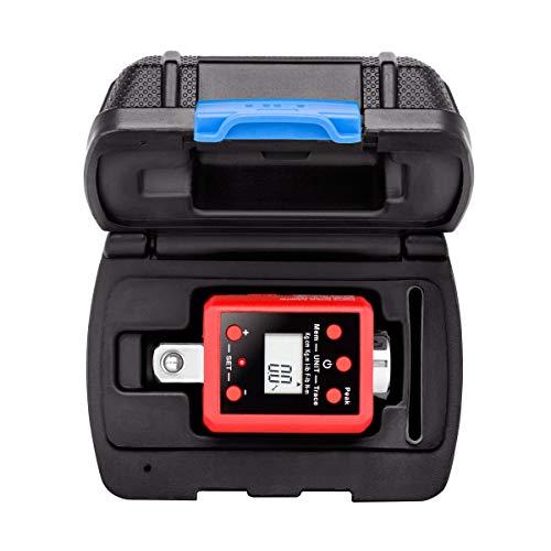 Neiko 20741A Digital Torque Adapter 12 Drive  295-1475 Foot-Pound  Audible Alert Renewed