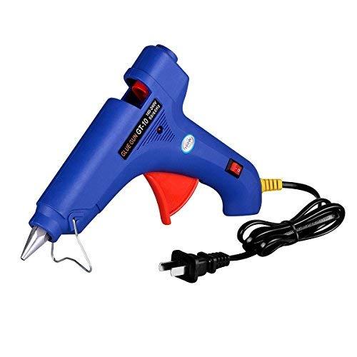 HiYi Power Tools Paintless Dent Repair Tools Kits Hot Melt High Temperature Industrial Glue Gun 100-Watt 100V-240V Wall Plug