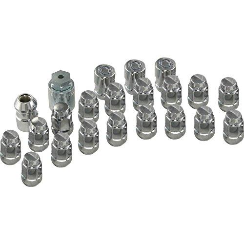 Ecklers Premier Quality Products 25-245605 Corvette Wheel Lug Nut Lock Set