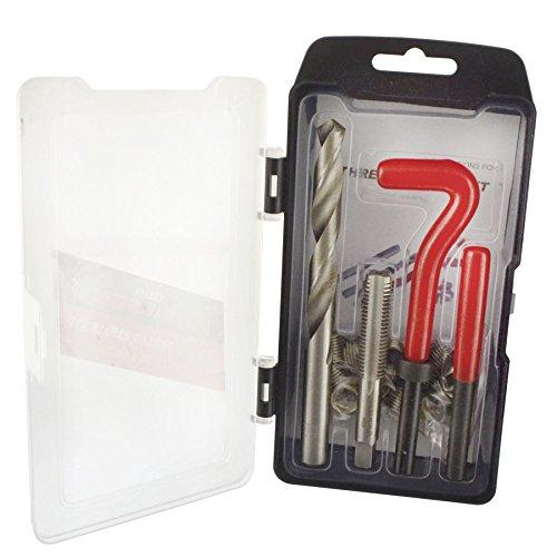 AB Tools M12 x 175mm Thread Repair kithelicoil 9pc Set Damaged Thread AN016