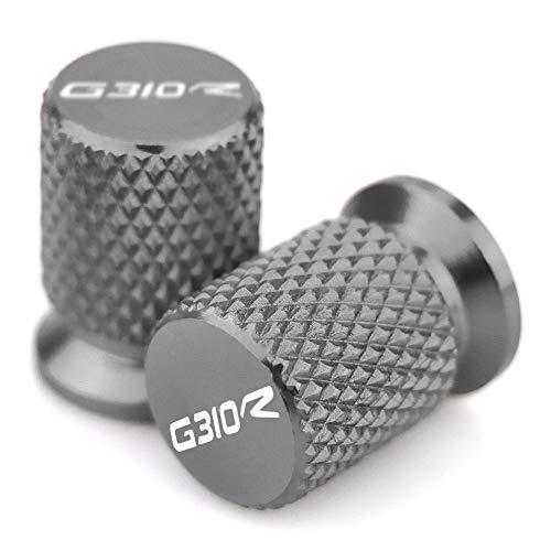 RONGLINGXING G310R Motorcycle Tire Valve Air Port Stem Cover Cap Plug CNC Accessories for BMW G310R 2016 2017 2018 2019 2020 Color  Titanium