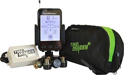 TireMinder A1A Tire Pressure Monitoring System TPMS with 6 Transmitters for RVs MotorHomes 5th Wheels Motor Coaches and Trailers