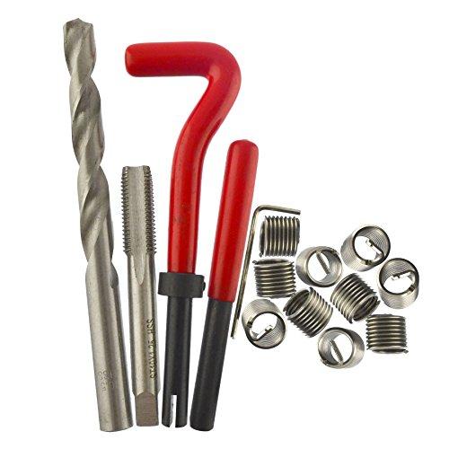 AB Tools M10 x 125mm Thread Repair kithelicoil 9pc Set Damaged Thread AN019