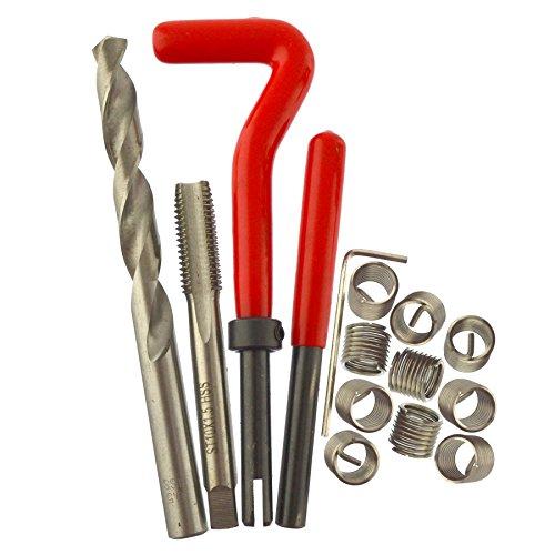 AB Tools-Neilsen M10 x 15mm Thread Tap Repair Cutter kit helicoil 15pc Set Damaged Thread AN054