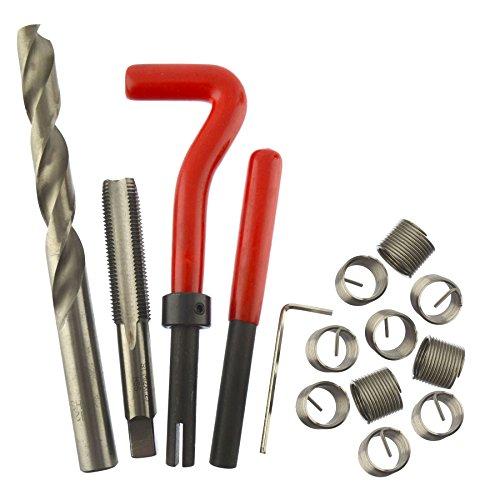 AB Tools-Neilsen M12 x 125mm ThreadTap Repair Cutter kit helicoil 15pc Set Damaged Thread