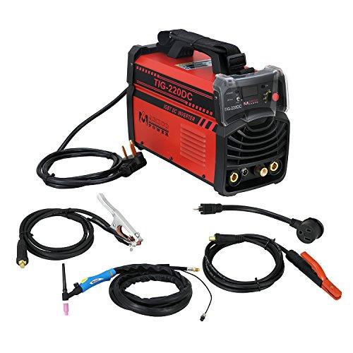 TIG-220 Amp TIG-Torch Stick ARC IGBT Inverter DC Welder 110230V Dual Voltage Input Welding Machine