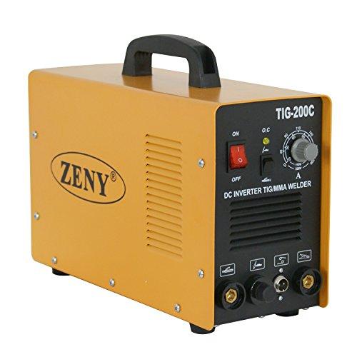 ZENY 200 Amp TIGArcMMAStick DC Inverter Welder 110230V Argon Welding Machine