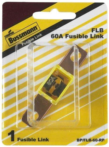 Bussmann BPFLB-60-RP 60 Amp Bolt-on Fusible Link with 1316 Bolt Terminal