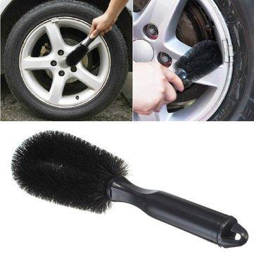 Wheel Cleaning Brush Tire Rim Scrub Brush Car Truck Bike Wash Washing Cleaning Tool rims cleaner