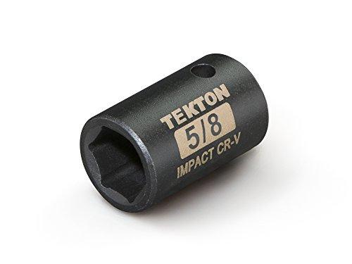 TEKTON 47753 12-Inch Drive by 58-Inch Shallow Impact Socket Cr-V 6-Point
