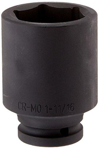 Sunex 454D 34-Inch Drive Deep 6 Point Impact Socket 1-1116-Inch