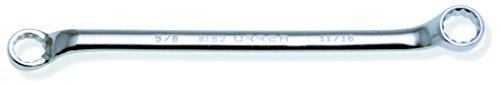 Urrea 8182 58-Inch X 1116-Inch 121-Point Box End Chrome Wrench