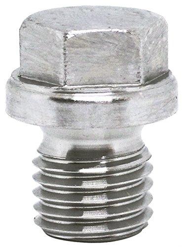 2pcs M12X15 Stainless Steel A2 Metric Flanged Hex Head Threaded Screw Plugs DIN 910 by BelMetric DP12X15HSS