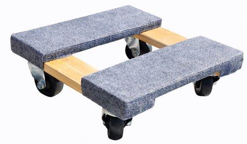 Milwaukee Hand Trucks 33815 Gleason Carpeted End Furniture Dolly 800 Lb L X 15 in W Hardwood