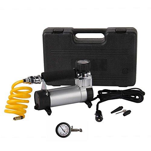 Bang4buck Portable Air Pump Compressor Kit Multi-Use Heavy Duty Mini Digital Tire Inflator DC12V 150 psi 40LMin