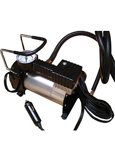 CUKKE 12V 35LMin Single Cylinder Inflatable Pump Portable Electric Auto Car Tire Inflator Pump Compressor Air Inflator Pump