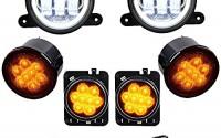 4-CREE-LED-Fog-Lights-Halo-Ring-Amber-LED-Front-Turn-Signal-Light-Fender-Side-Marker-Lamp-50-x-1-4-GRAY-6400lbs-Synthetic-Winch-Rope-for-2007-2017-Jeep-Wrangler-JK-JKU-34.jpg