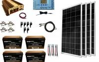 WindyNation-400-Watt-4pcs-100W-Solar-Panel-Kit-1500-Watt-VertaMax-Power-Inverter-AGM-Battery-Bank-for-RV-Boat-Cabin-Off-Grid-12-Volt-Battery-System-7.jpg